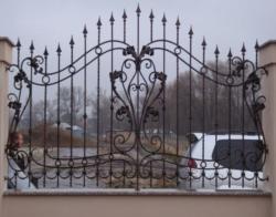 Кованые заборы в Домодедово