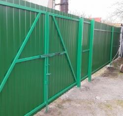 Ворота из профнастила в Домодедово